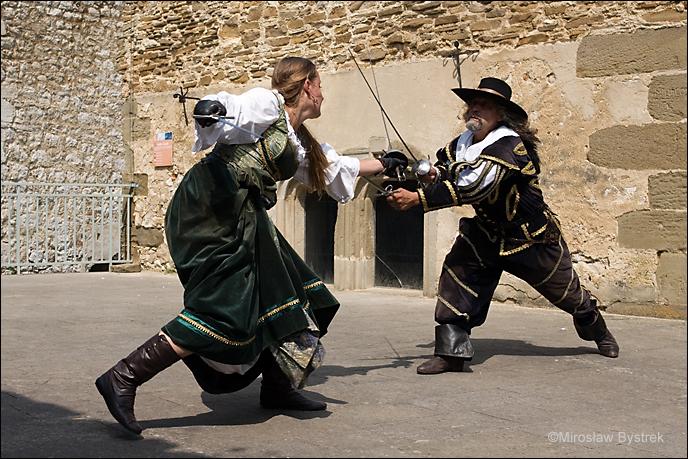 inscenizacje walk rycerskich