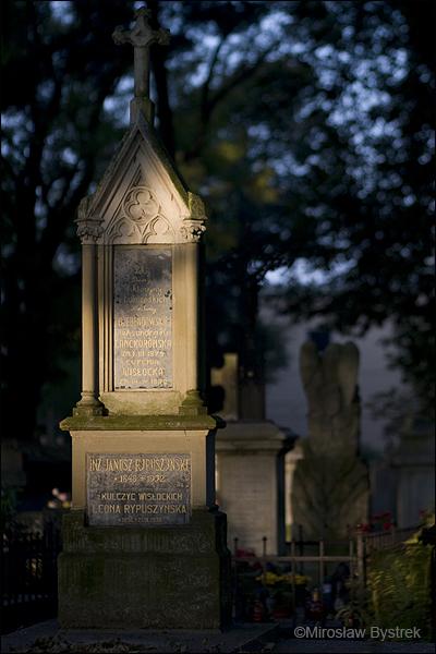 Stary Cmentarz w Tarnowie hr. Aleksandra Lanckorońska