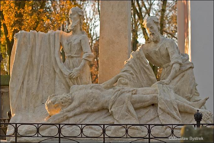 cmentarz tarnowski grobowiec Floriana Amanda Janowskiego