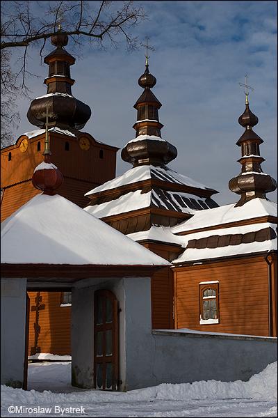 Wysowa cerkiew Św. Michała Archanioła.