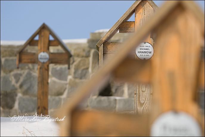 Banica cmentarz wojenny Michael Hramow