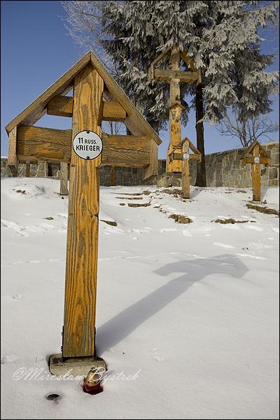 Banica cmentarz I wojny św. w Beskidzie Niskim