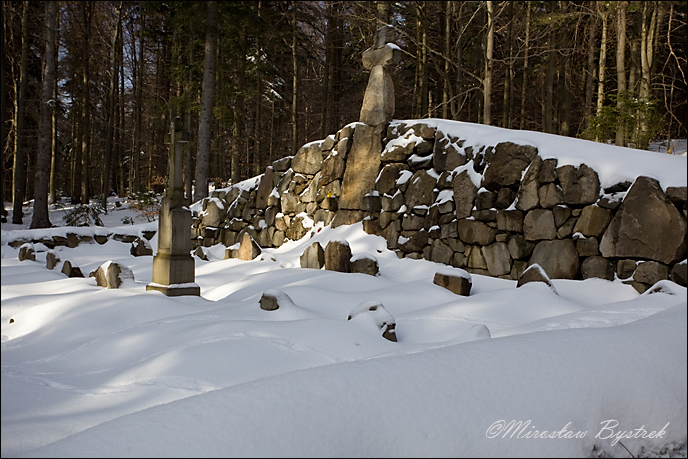 Kriegerfriedhof aus dem Ersten Weltkrieg in Przysłup (West-Galizien), Polen