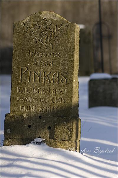 Pinkas Stern, Infanterist (szeregowy piechór) IR 21 +16.03.1915