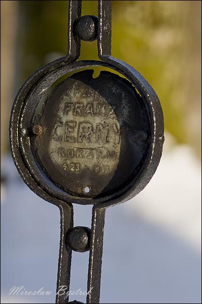 Cerny Franz, Inf. IR 18