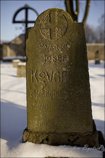 Kovarnik Josef Inf. IR 21 +22.04.1915