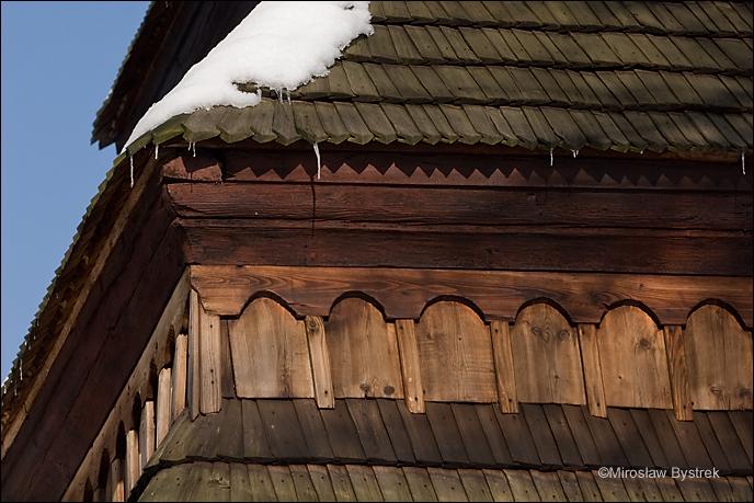gontowe pokrycie dachowe