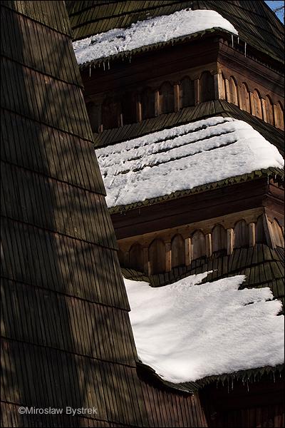 cerkiew dachy łamane uskokowo