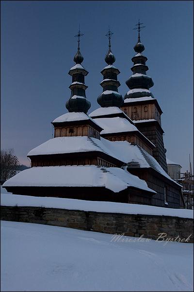 Owczary cerkiew łemkowska