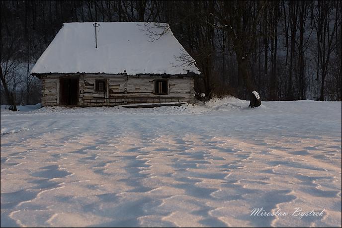 opuszczona chata