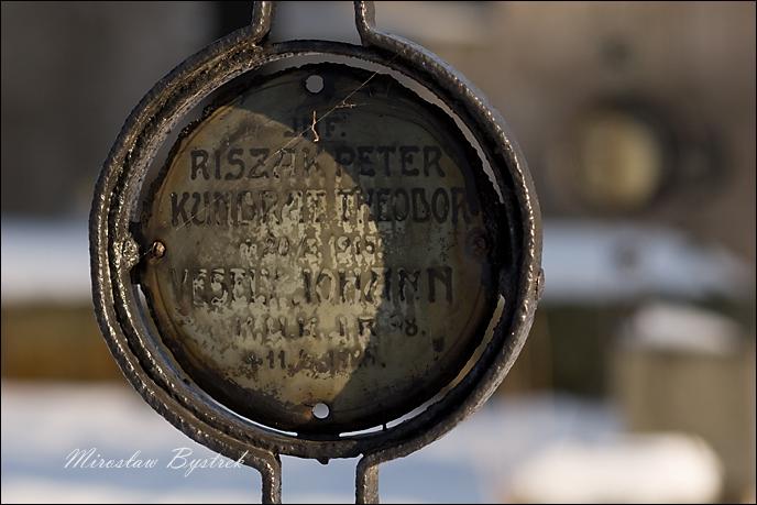 Riszak Peter Inf. IR 98, Kundrat Theodor Inf. IR 98, Vesely Johann Inf. IR 18