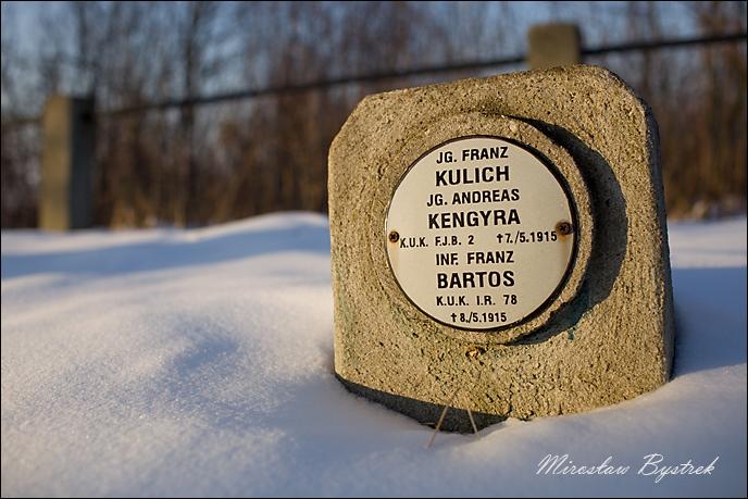 Jg. Franz Kulich, Andreas Kengyra F.J.B. 2, iNF. Franz Bartos IR 78