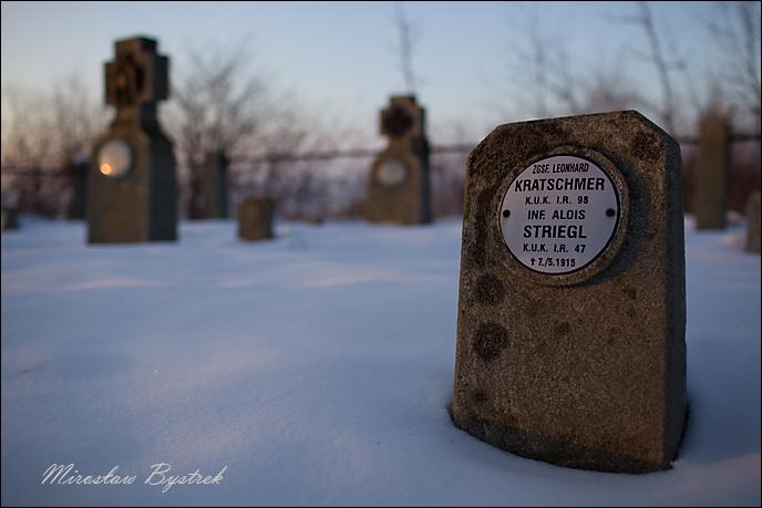 cmentarz wojenny Januszkowice Inf. Alois Striegl IR 47