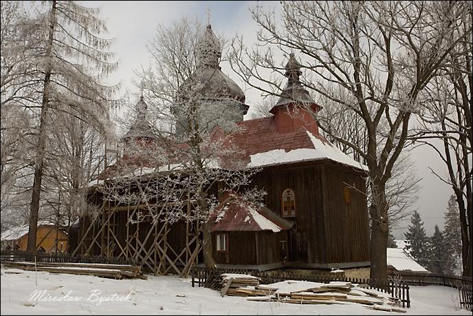 Krzywa, cerkiew