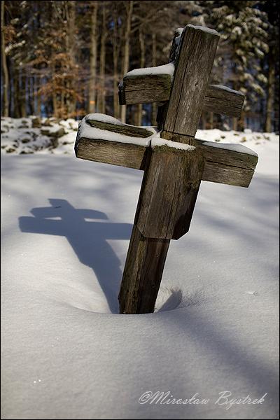 magura małastowska cmentarz krzyż dwuramienny