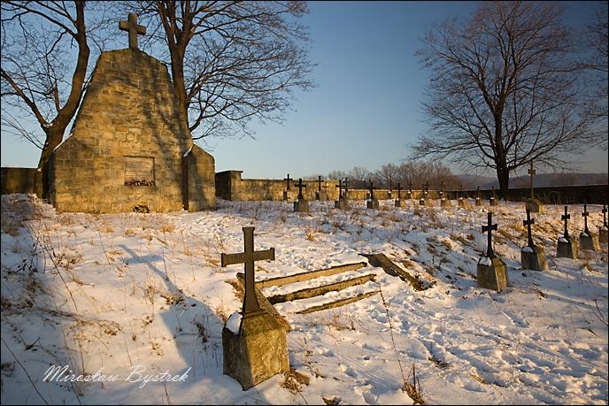Sękowa cmentarz
