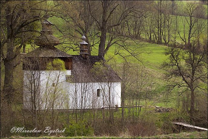Bieliczna - cerkiew św. Michała Archanioła