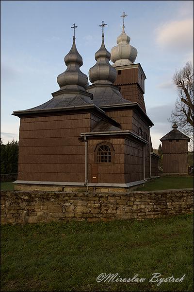 Piorunka - cerkiew z 1798r p.w. śś Kosmy i Damiana.
