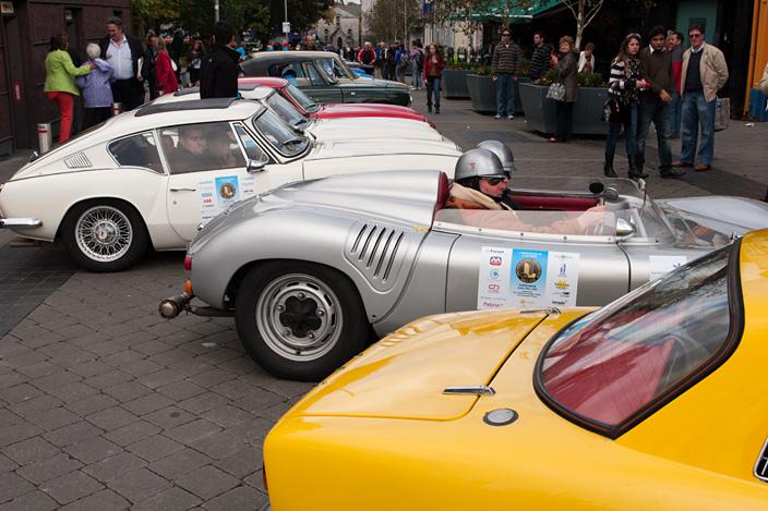 zjazd starych samochodów w Galway