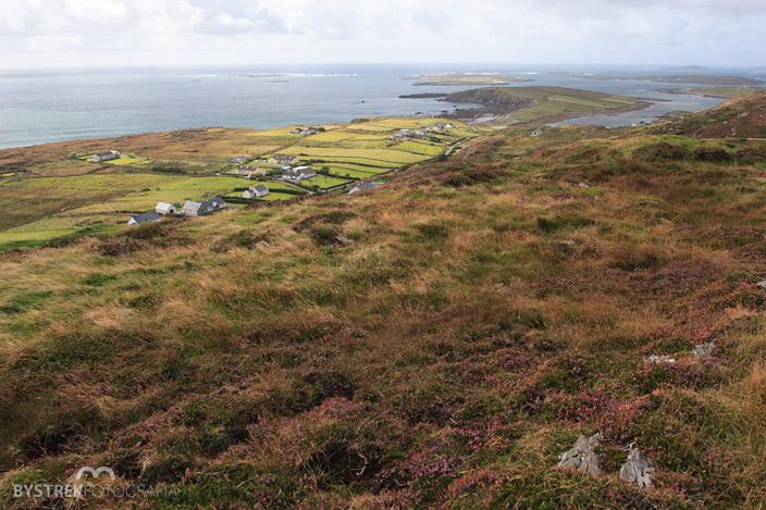 Sky Road irlandzkie krajobrazy