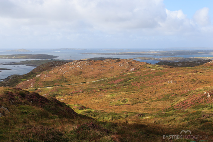 Sky Road krajobraz Irlandii