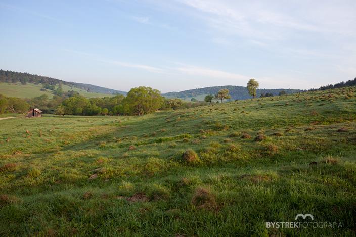 wieś Długie Beskid Niski