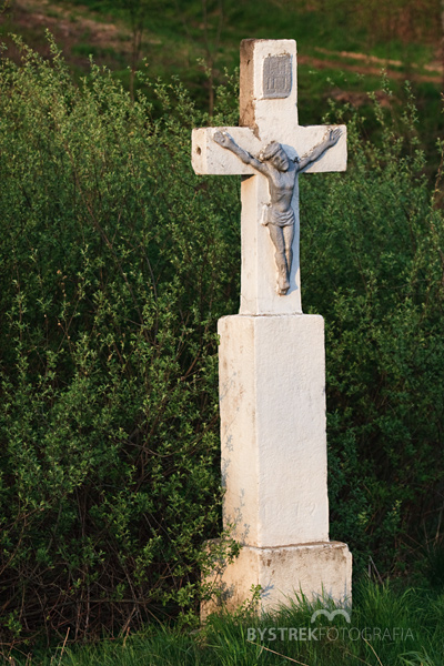 Ropica Górna krzyż przydrożny