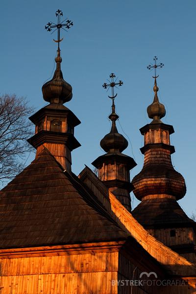 wieżyczki cerkwi