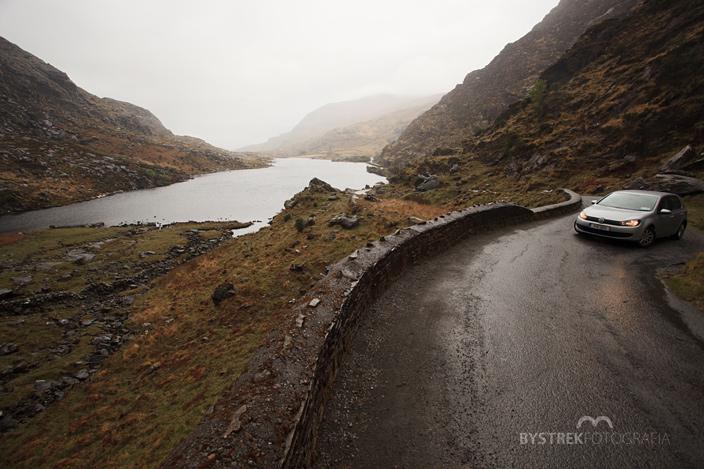 Przełęcz Dunloe w Irlandii