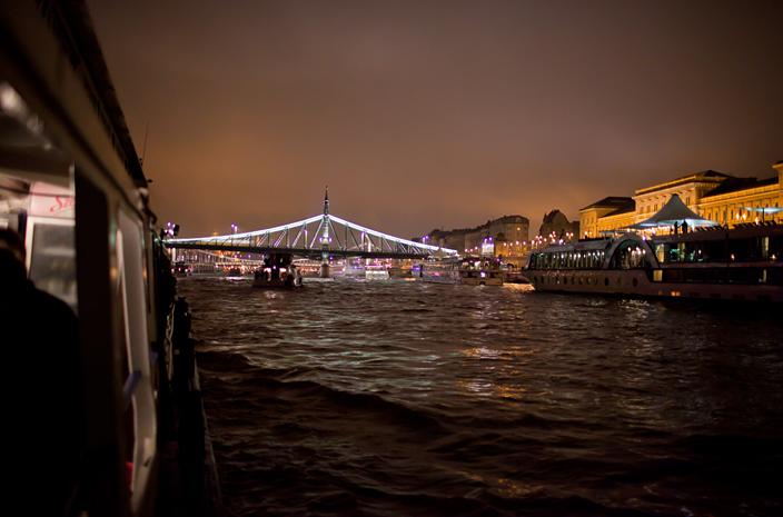 rejs po Dunaju w Budapeszcie