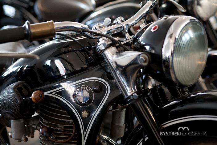 BMW zabytkowy motocykl