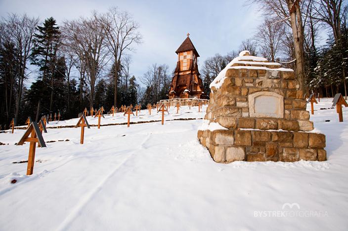 Łużna - Pustki cmentarz