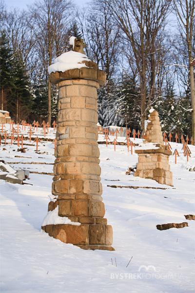 cmentarz w Łużnej po remoncie